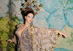 1994 Erte Stardust Porcelain Doll #1 (Deboxed) (6) (Paul BarbieTemptation) Tags: silver gold doll barbie 1994 limited edition porcelain stardust erte