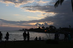 Sunset During The Reception At The Beach House Restaurant (fethers1) Tags: kauai beachhouserestaurant kauaivacationmay2016 ericandtiffanyskauaiwedding
