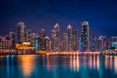 The Burj Khalifa Lake (IzTheViz) Tags: dubai khalifa burj