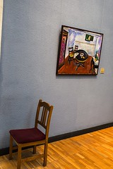 Third chair..(  .. ) (Vadim Tsymbalyuk) Tags: museum 35mm canon painting chair sigma indoor 6d