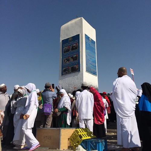 Adam - Hawa 😇🙏👫 #JabalRahmah #PadangArafah #Makkah