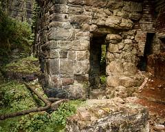 The Furnace (brianloganphoto) Tags: ny newyork tree industry stone rural landscape us ruins iron unitedstates outdoor historical orangecounty arden blastfurnace smelting clovefurnace landmarkironore