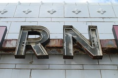 RN (Flint Foto Factory) Tags: city urban chicago west sign tile store illinois spring model rust furniture north may rusty front company signage letter terra cotta inc 1952 ravenswood 2016 wlawrenceave