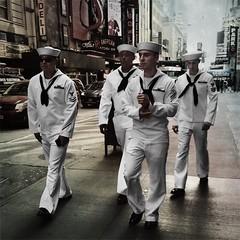 Seamen (ShelSerkin) Tags: street nyc newyorkcity portrait newyork candid streetphotography squareformat gothamist iphone mobilephotography iphoneography hipstamatic
