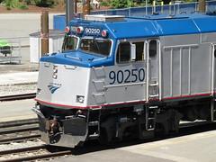 Amtrak 90250 NPCU (zargoman) Tags: train rail railraod travel transportation passenger transit car wagon transport amtrak seattle npcu non powered cab control unit dummy