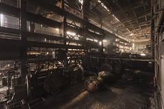 Sunup (Kriegaffe 9) Tags: light rust industrial decay steel