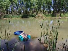 Chad and floaties (EllenJo) Tags: pentax cottonwoodarizona 2016 june19 jailtrail 86326 ellenjo ellenjoroberts pentaxqs1