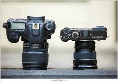 Fujifilm X-Pro 2 vs Canon EOS 7D II (nandOOnline) Tags: camera eos fuji fujifilm dslr spiegelreflex 7d2 mirrorless xpro2