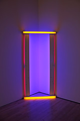Untitled (to Barnett Newman) two, by Dan Flavin (JB by the Sea) Tags: sanfrancisco california sfmoma financialdistrict danflavin sanfranciscomuseumofmodernart june2016