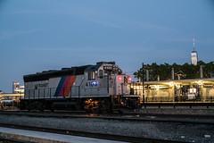 Work Motor (Nick Gagliardi) Tags: train trains railroad gp40ph2 gp40p cnj emd diesel njt nj transit new jersey hoboken yard terminal work motor