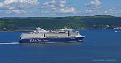 Color Line (Leifskandsen) Tags: boat ship sail oslofjorden ferry passenger color line travel voyage maritime camera leica living leifskandsen skandsenimages scandinavia norway germany kiel