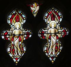 two angels and the dove descending (Hardman & Co, 1872) (Simon_K) Tags: cambridge church university churches colleges stmichael cambridgeshire eastanglia cambs michaelhouse churchess