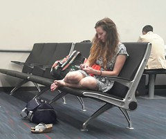 Airport II   --   Studio_20160701_034335 (mshnaya) Tags: street camera leica people photography photo washington airport delay flickr candid strasse lounge snapshot picture bored baltimore wait rue genre bwi    leicac