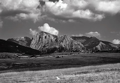 Sunny afternoon (ItalianGraffiti) Tags: blackandwhite monochrome clouds mono sibillini