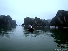 (artistRanjesh2) Tags: sea water boats island bay rocks vietnam waters halong halongbay