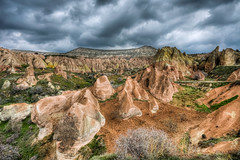 Red Valley, Cappadocia (Nejdet Duzen) Tags: trip travel nature turkey trkiye cappadocia turkei redvalley seyahat nevehir doa kzlvadi