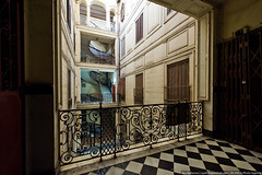 Algerian stairwell (varlamov) Tags: algeria interior stairwell algiers