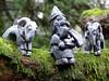 Pottery Thor and Goats (Thorskegga) Tags: god clay idol thor viking thunder saxon pagan norse anglo heathen asatru heathenry thuner godfigure