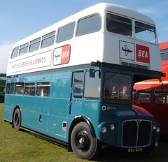 RMA28 - KGJ 601D. Formally numbered as BEA 1. (wagn1) Tags: london buses bea routemaster britisheuropeanairways bea1