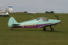 G-CCCJ (IndiaEcho Photography) Tags: light england canon airplane airport northampton general aircraft aviation rally northamptonshire aeroplane 700 2009 orm airfield hn laa sywell menestrel egbk gcccj
