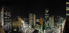 Avenida Paulista Gazeta Night Panoramic (rticotropical) Tags: gazeta avenidapaulista