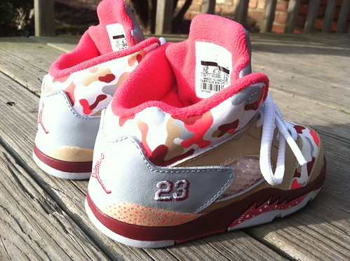 4f3f5873179 Baby Girl Camo Jordans - a photo on Flickriver