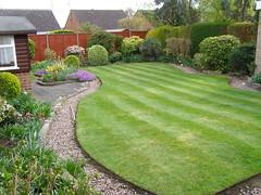 A  garden I maintain..............c884 (anchorphotos) Tags: garden notes id lawn note list customer identification