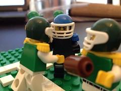 LEGO Football (SportBricks) Tags: sports football lego stadium nfl exclusive americanfootball oregonducks minifigure collegefootball cuusoo eurobricks legofootball collectableminifigure