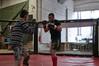 Free fight cage (jessibelaidene) Tags: sport combat freefight entraînement