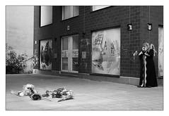 . (Thorsten Strasas) Tags: flowers berlin schilder sign kreuzberg children deutschland pain candles mourning rally protest mother streetphotography streetlife blumen demonstration domestic killer murder violence killed kerzen turkish grief reportage kurdish schmerz trauer gedchtnis traurigkeit schwarzweis