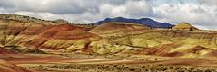 Painted Hills pan (NikonDigifan) Tags: panorama oregon nik pan paintedhills colorefexpro mikegassphotography
