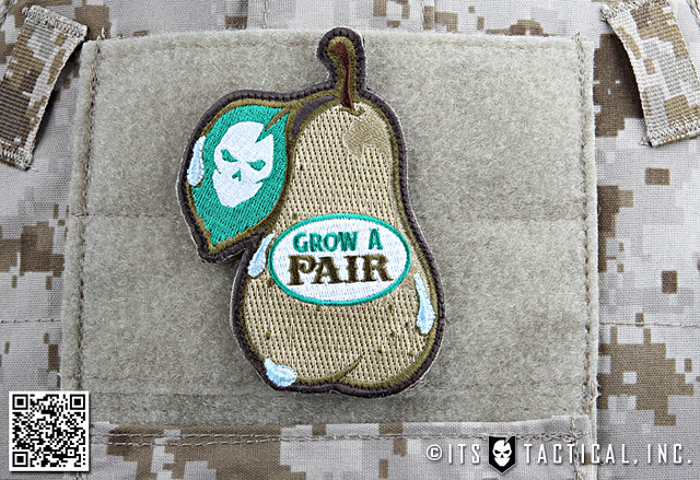 Grow A Pair Morale Patch