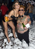 Koren Copperthwarte and Hugo Reis Geordie Shore star Charlotte-Letitia Crosby makes a personal appearance at the Foam Party at XS Nightclub Dublin, Ireland