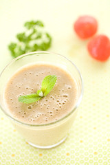 green smoothie (sachan) Tags: food fruit drink    greensmoothie
