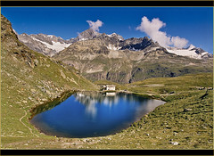 The Schwarzsee /Zermatt in July 27 2005.no.28. (Izakigur) Tags: summer mountains alps alpes liberty schweiz switzerland nikon europa europe flickr suisse suiza swiss feel lac zermatt alpen helvetia nikkor svizzera alpi wallis lepetitprince ch valais schwarzsee dieschweiz musictomyeyes  sussa suizo  myswitzerland lasuisse alpene    alperne izakigur  suisia laventuresuisse mygearandme izakigur2005 izakiguralps izakigurzermatt