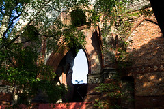 Day 134 in 2012 - Ruine (JudithTB) Tags: berlin church kirche destroyed weisensee zerstrt