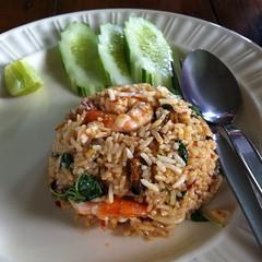 ข้าวผัดโป๊ะแตก | Fried Rice With Mix Seafood @ บ้านศาลาไทย | Baan Sala Thai
