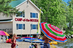 01 Beach Carnival at Camp of the Woods (Adventure George) Tags: summer vacation usa newyork beach sand unitedstates newyorkstate recreation speculator adirondack hamiltoncounty lakepleasant adirondackpark campofthewoods nikond700 photogeorge naturalsandbeach