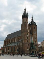 St. Mary's Basilica (1) (Krzysztof D.) Tags: architecture poland polska polen krakw maopolska architektura maopolskie