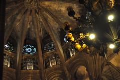 Barcelona Gaudì (Aria92) Tags: barcelona church cathedral details chiesa dettagli barcellona interno gaudì internal cattedrale aria92