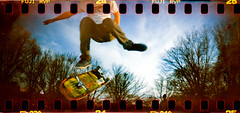 sk8_patrix_day-14 (Redfishingboat (Mick O)) Tags: film lomo xpro skateboard albanyny fujivelvia50 sprocketholes sprocketrocket unicolorc41kit lomo30mmf108 roll20120527