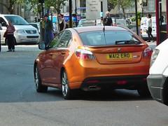 MG 6 (kenjonbro) Tags: uk orange brown london gold trafalgarsquare mg turbo gt charingcross tse sw1 worldcars mg6 kenjonbro roewe550 fujihs10 wa12ero saicmotor