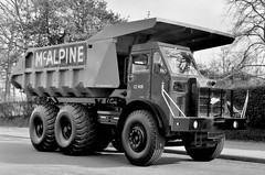 McAlpine Foden Dumper (Jibup) Tags: road new truck sand tipper offroad transport dumptruck mining lorry vehicle heavy load quarry carry gravel lorrie offical foden haulage convey opencast dumper dumptrucks halfcab offroaddump