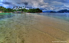 imagine walking the sandbar in palawan (Rex Montalban Photography) Tags: philippines hdr elnido palawan snakeisland rexmontalbanphotography