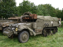 US Half-track (Megashorts) Tags: uk england usa army us military wwii olympus hampshire vehicles american overlord ww2 vehicle e3 50200mm armored zuiko swd 2012 halftrack armoured allied zd mk1 1454mm solentoverlord overlord2012 ppdcb4