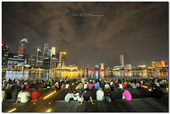 Enjoy the  Night Scene @ Singapore Marina Bay Sands_5281 (wsboon) Tags: city longexposure travel cruise light sky holiday color tourism water architecture night clouds composition buildings relax corporate lights design photo google search nikon singapore asia exposure cityscape view nocturnal skyscrapers heart perspective visit tourist calm peoples explore photograph land destination serene cbd pimp nocturne dri singapura bumboat centralbusinessdistrict blending singaporeriver singaporecityscape masteratwork marinabay uniquelysingapore singaporecity peopleculture marinabaysands d700 singaporecruise singaporelandscape nocommentsimplyperfectsingaporeview