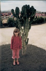 Lanzarote With Chloe 2003 (Roy Richard Llowarch) Tags: lanzarote chloe camels canaryislands barr thirteen volcanos costateguise costateguiselanzarote chloellowarch