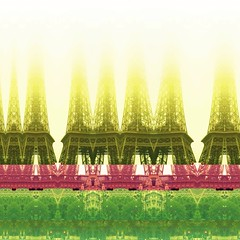 Eiffel tower - decim8'd
