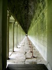 Angkor Wat bas-relief corridor