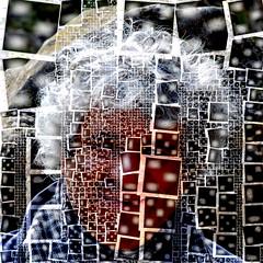 Self Portrait (alain vaissiere) Tags: art photo mosaic photomosaic toulouse alain mosaique vaissiere